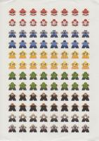 Rampage Meeple Stickers
