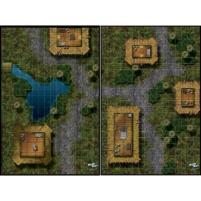 Mighty Maps #6 - Undercity Waterway/3rd Precinct Headquarters/Jungle Village