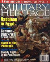 "Vol. 18, #2 ""Counterpunch at Germantown, Clash of the Ironclads, Russia's immortal Generals"""