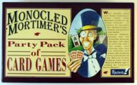 Monocled Mortimer's Party Pack of Card Games