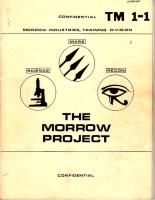 Morrow Project, The (1st Edition)