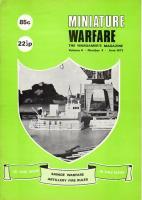 "Vol. 4, #5 ""Savage Warfare, Artillery Fire Rules"""