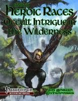 Book of Heroic Races - Occult Intrigue in the Wilderness