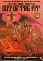 Fighting Fantasy Monsters - Out of the Pit (1st Edition, 2nd Printing)