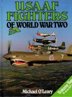 USAAF Fighters in World War II, Vol. 2 - P-40 to XP-58