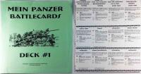 Mein Panzer - Battlecards, Deck #1