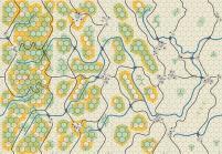 "Panzer Leader Blitz - 5/8"" Center Map Set - Battle of the Bulge"