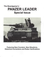 Panzer Leader Special Issue (Unbound Reprint)