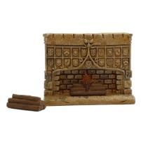 Fireplace w/Logs