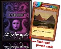 Pyramids of Giza - Promo Card