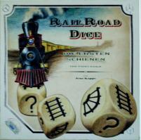 Railroad Dice 2-Pack, Railroad Dice + Railroad Dice 2!