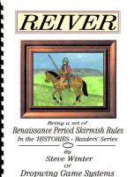 Reiver - Renaissance Period Skirmish Rules