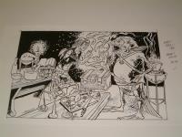 """#16 TSR AD&D - The Rod of Seven Parts - 11"""" x 8"""" Original Ink"""