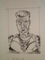 """#2 TSR AD&D - The Rod of Seven Parts - 5.5"""" x 7"""" Original Ink"""