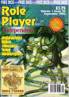 "Vol. 1, #10 ""Earthdawn, Elric!, Cthulhu, Torg, Pendragon"""