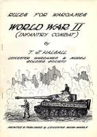 Rules for Wargames - World War II - Infantry Combat