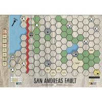 Age of Steam Expansion - San Andreas Fault