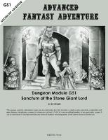Sanctum of the Stone Giant Lord