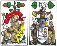 Satirical 16th Century German Playing Cards
