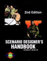 Scenario Designer's Handbook (2nd Edition)
