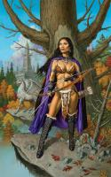 Shanyan the Huntress (Unmatted)
