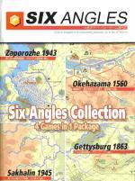 Six Angles Collection w/Zaporozhe 1943, Okehazama 1560, Sakhalin 1945 & Gettysburg 1863