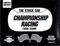 Stock Car Championship Racing Card Game, The (Limited Edition)