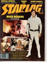 """#21 """"Buck Rodgers the Movie, Mark Hamill - Star Wars Gossip, Venus Pix"""""""