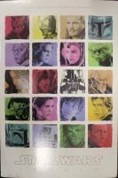 Star Wars Saga Cast Poster