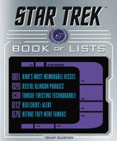 Star Trek - The Book of Lists