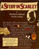 Study in Scarlet, A - A Sherlock Holmes Murder Dossier