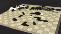 "Tank Chess w/20"" x 20"" Board (Pocket Edition)"