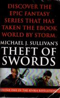 Riyria Revelations #1 - Theft of Swords (Advanced Reading Copy)