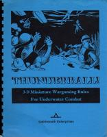 Thunderball! - 3D Miniature Wargaming Rules for Underwater Combat