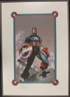 Captain America (Framed)