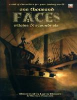 1000 Faces - Villains & Scoundrels