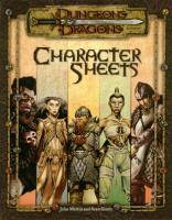 Character Sheets 3.0