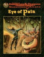Beholder Trilogy, The #1 - Eye of Pain