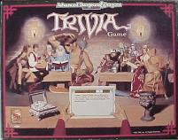 AD&D - 2nd Edition - Trivia Game