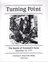 Turning Point - The Battle of Freeman's Farm 1777