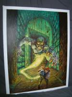 "TSR Undermountain #1 - The Lost Level - 21"" x 28"" Original Painting"