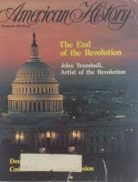 """Vol. 18, #7 """"The End of the Revolution, Tales of Old Newgate Prison"""""""