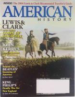 "Vol. 39, #1 ""John Kerry's Final Mission, Lewis & Clark, The Beatles Take America"""
