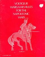 Voltiguer Wargames Rules for the Napoleonic Wars