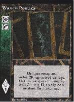 3rd Edition Promo Card - Waxen Poetica