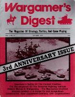 "Vol. 3, #12 ""Hidden Moves in Wargaming, Ancient Armies"""