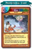 Wish - Promo Card