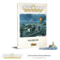 Cruel Seas Rulebook w/Das Boot Special Miniature