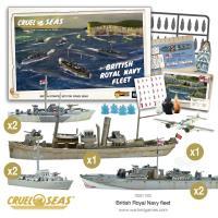 Cruel Seas - British Royal Navy Fleet