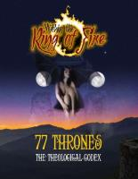 77 Thrones - The Theological Codex